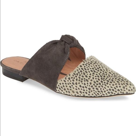 Caslon Luke Knotted Leopard Mule 8